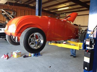 Orange rod