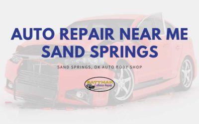 Auto Repair Near Me Sand Springs