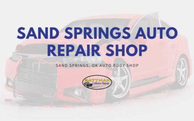 Sand Springs Auto Repair Shop