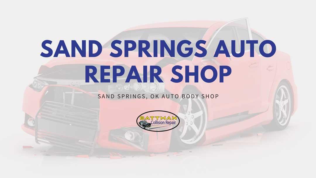 sand springs auto repair shop battmann auto repair sand springs ok