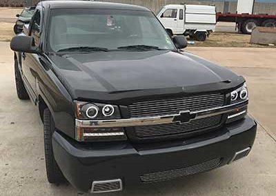 Black Chevrolet Front Bumper