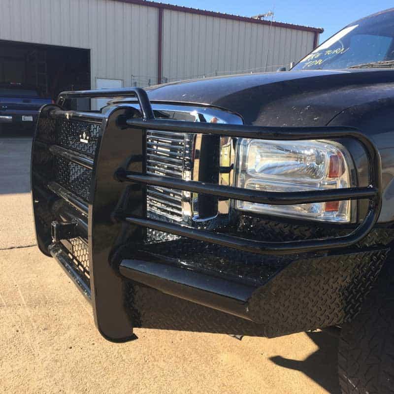 custom steel ford bumper